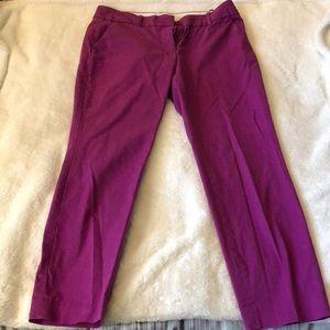 J Crew cropped khaki pants